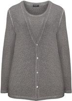 Via Appia Plus Size Knit twinset