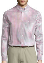 Dockers Signature Long-Sleeve Windowpane Woven Shirt