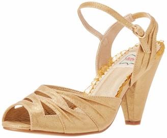 "Bettie Page Women's Maria 4"" Heeled Sandal"
