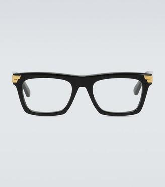 Bottega Veneta Acetate frame glasses