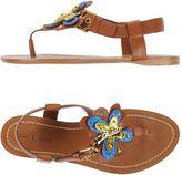 Car Shoe Toe strap sandals