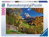 Ravensburger Mountains in Autumn 1000pc Puzzle