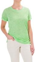 Caribbean Joe Scoop Neck T-Shirt - Short Sleeve (For Women)