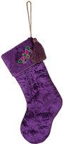 Joanna Buchanan Embroidered Dragonfly Christmas Stocking