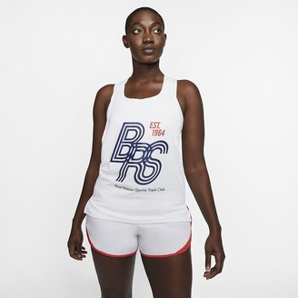Nike Running Singlet AeroSwift Blue Ribbon Sports