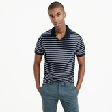 J.Crew Tall classic piqué polo shirt in stripe