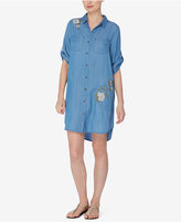 Catherine Malandrino Catherine Embroidered Shirtdress