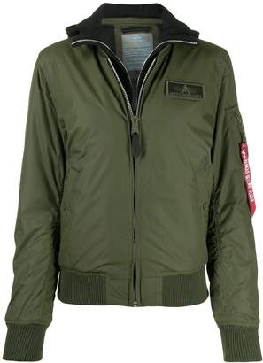 Alpha Industries MA-1 D-TEC bomber jacket