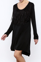 Monoreno Fringe Shift Dress