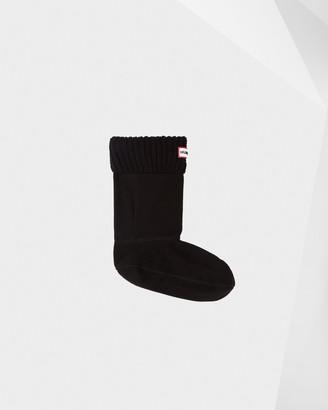 Hunter Half Cardigan Knitted Cuff Short Boot Socks