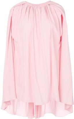 Marni cape sleeve blouse