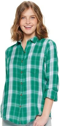 So Juniors' Button Down Shirt