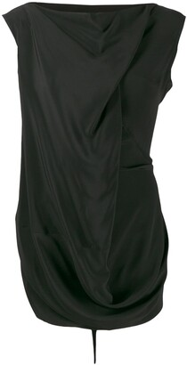Rick Owens draped blouse
