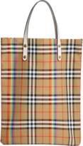 Burberry Rainbow Vintage Check Medium Shopper