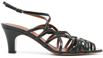 Michel Vivien Blanca strappy sandals