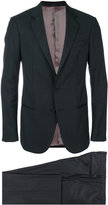 Giorgio Armani classic single breasted suit - men - Acetate/Cupro/Viscose/Virgin Wool - 48
