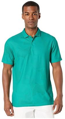 Nike TW Dry Polo Camo Jacquard (Dark Smoke Grey/Black) Men's Clothing