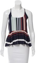 Rebecca Minkoff Sleeveless Printed Top w/ Tags