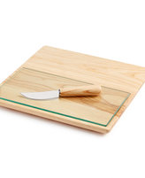 Hotel Collection Wood Cheeseboard Set