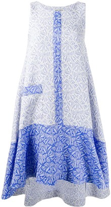 Henrik Vibskov Re-Lenka jacquard flared dress