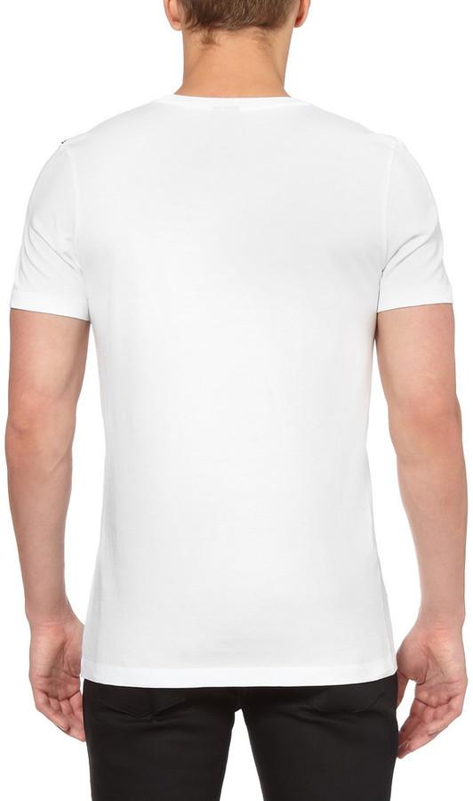 McQ Printed Cotton T-Shirt