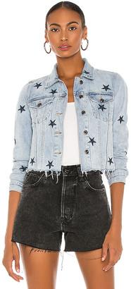 Pistola Denim Brando Navy Star Denim Jacket. - size L (also