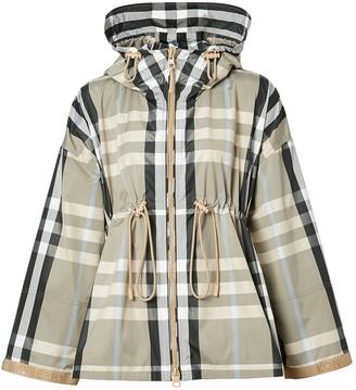 Burberry Bacton Nylon Check Jacket