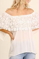 Umgee USA Platter Lace Collar