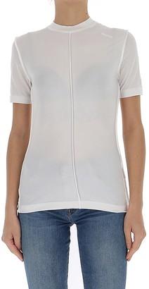 Ganni Stitched Jersey T-Shirt
