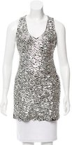 Andrew Gn Metallic Sleeveless Tunic