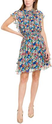 Shoshanna Venezia Silk Mini Dress