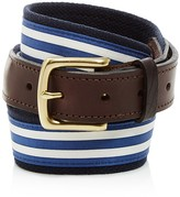 Vineyard Vines Edgartown Striped Canvas Club Belt