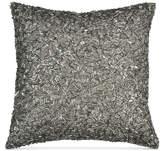 "Donna Karan Home Exhale 12"" Square Beaded Decorative Pillow Bedding"