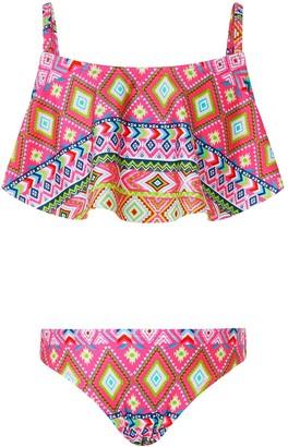 Monsoon Girls S.E.W. Xena Geo Bikini - Pink