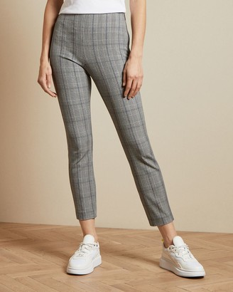 Ted Baker Skinny Checked Trousers