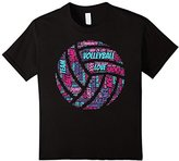 Volleyball Shirt: Words Terms Vocabulary Player Gift T-Shirt