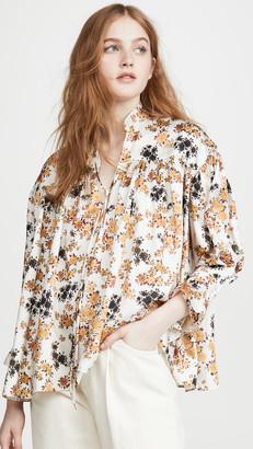 Victoria Victoria Beckham Tie Sleeve Overshirt