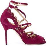 Marchesa 'Marina' pumps - women - Leather/Suede - 37.5