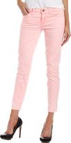 Current/Elliott Stiletto Cropped Jeans, Day Glow Pink