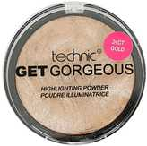 Yours Clothing Technic Gold Get Gorgeous Highlighting Powder
