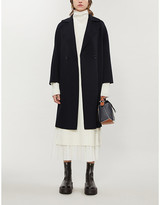 Max Mara Ode unlined wool, cashmere and silk coat