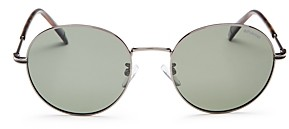 Polaroid Unisex Round Sunglasses, 54mm