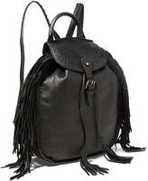 Polo Ralph Lauren Fringed Leather Backpack