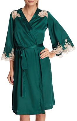 I.D. Sarrieri Manhattan Mornings Short Robe
