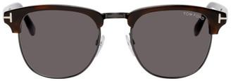 Tom Ford Tortoiseshell Henry Sunglasses