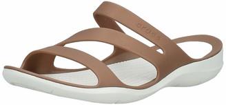 Crocs Women's Swiftwater Sandal Sport Black 11 M US