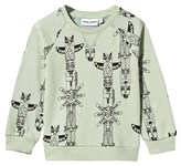 Mini Rodini Totem Sweatshirt Green