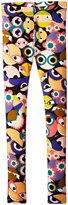 Fendi Monster Print Leggings (Toddler/Kid) - Multi - 3T