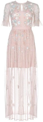 Frock and Frill EL Embroidered Maxi