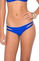 Luli Fama Women's 'Zig Zag' Reversible Cutout Bikini Bottoms